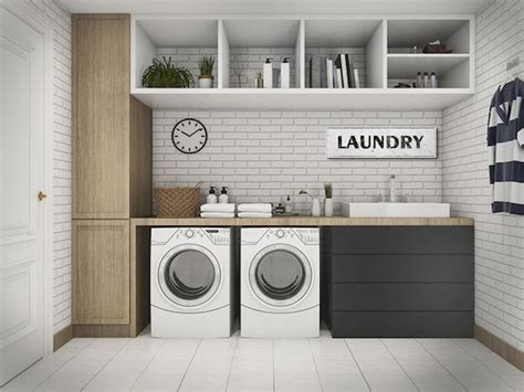 Laundry In Kitchen Ideas